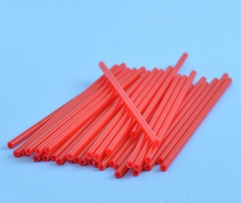 Cake Pop Sticks -RED -Κόκκινα Στικάκια για Cake Pops -15εκ -25τμχ