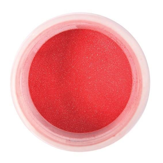 Colour Splash Dust -PEARL RASPBERRY -Σκόνη Περλέ -Κόκκινο (Βατόμουρο) 5γρ