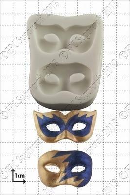 FPC Silicone Mould -MASQUERADE MASKS -Καλούπι Μάσκες Μασκαράδων
