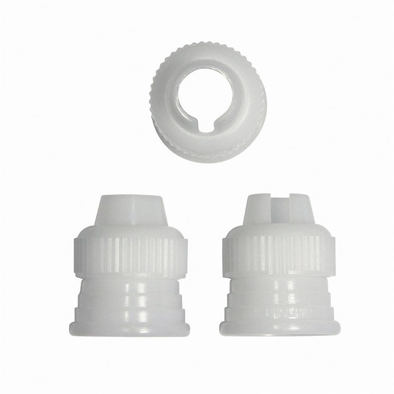 PME Coupler/Adaptor for Piping Bag -Set of 3 - Σετ 3τεμ Προσαρμογέας για Σακούλα Κορνέ