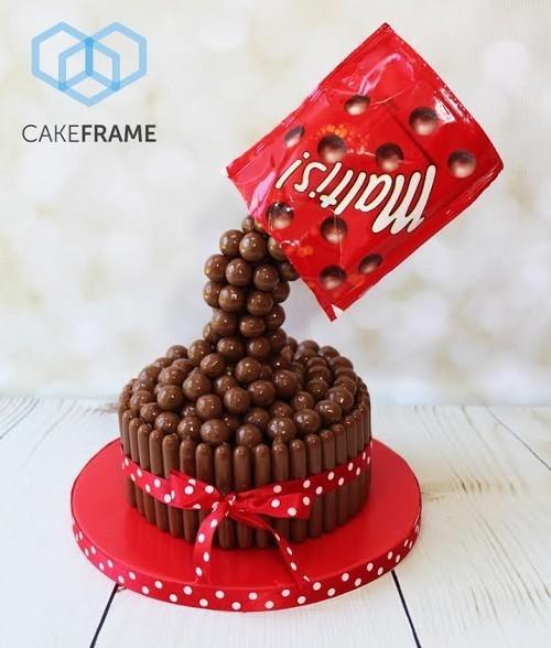 Cake Frame Pouring Kit -Βάση Στήριξης Για Κατασκευή Τούρτας
