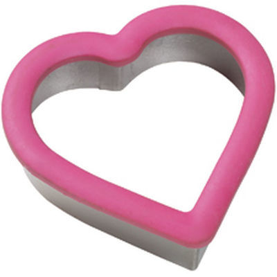 Wilton Metal Grippy Cutter -HEART -Κουπ πατ Καρδιά με λαβή σιλικόνης 10εκ