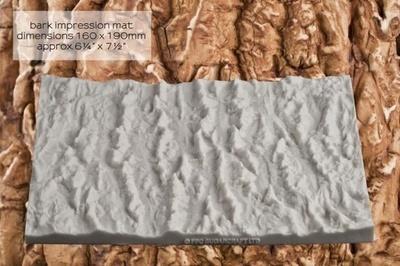 FPC Silicone Texture Mat -BARK -Καλούπι Φλοιός Δέντρου