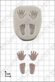 SALE!!! FPC -Silicone Mould -TINY HANDS & FEET -Καλούπι Σιλικόνης Μικρά Χεράκια και Πατουσάκια