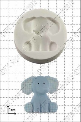 FPC Silicone Mould -NURSERY ELEPHANT -Καλούπι Παιδικός Ελέφαντας