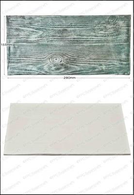 SALE!!! FPC -Silicone Texture Mat -WOOD GRAIN -Πατάκι Σιλικόνης με Υφή Ξύλου