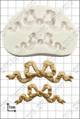 FPC Silicone Mould -RIBBON BOWS -Καλούπι Κορδέλα Φιόγκος