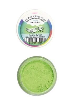 By Rainbow Dust Edible Dust -Matt SPRING GREEN -Βρώσιμη Σκόνη Ματ Πράσινο της Άνοιξης ∞