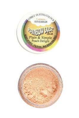 By Rainbow Dust Edible Dust -Matt PEACH DELIGHT -Βρώσιμη Σκόνη Ματ Ροδακινί ∞