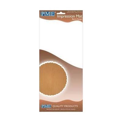 PME Impression Mat -BARK -Πατάκι Αποτύπωσης Σχεδίου Φλοιός Δέντρου