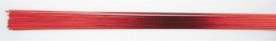 SALE!!! Culpitt - Floral Wire Red 24gauge - Σύρμα Λουλουδιών - Κόκκινο - 50τεμ/πακέτο - 0.51χιλ