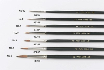 SALE!!! Culpitt -Sable Artist Brush Νo.4 -Πινέλο με Mαλακές Tρίχες Νο 4