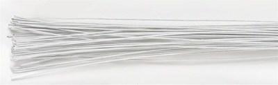 Culpitt Floral Wire -WHITE -26 gauge -Σύρμα Λουλουδιών -Λευκό 50 τεμ
