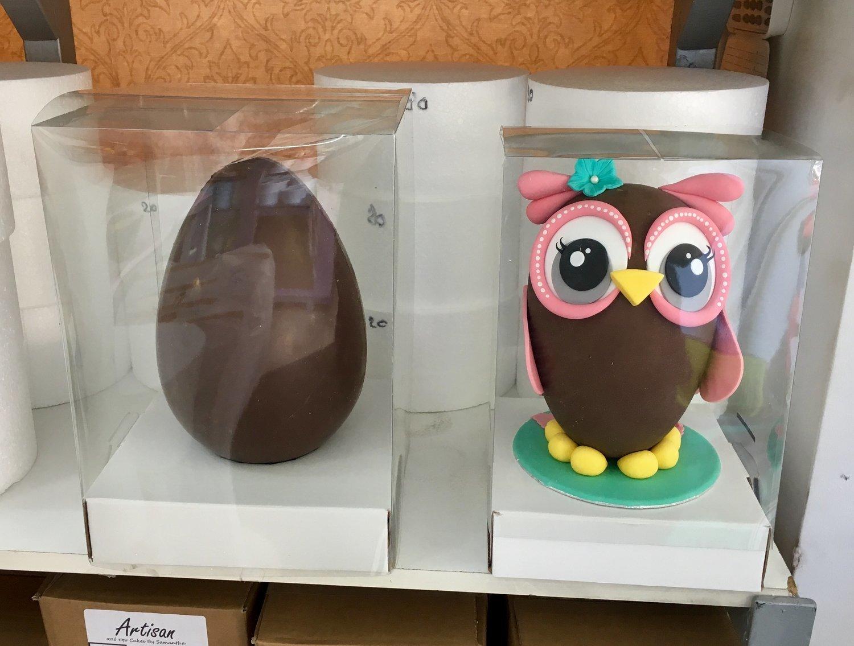 Clear Egg Box -SMALL SQUARE -Διάφανο Κουτί & Βάση για Πασχαλινά Αυγά -Μικρό 18 x 18 x 25εκ