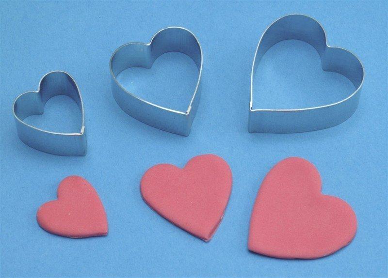 PME Geometric Cutters -Set of 3 -ARUM LILY (HEART)- Σετ 3τεμ Κουπ πατ Καρδιά/Κρίνος