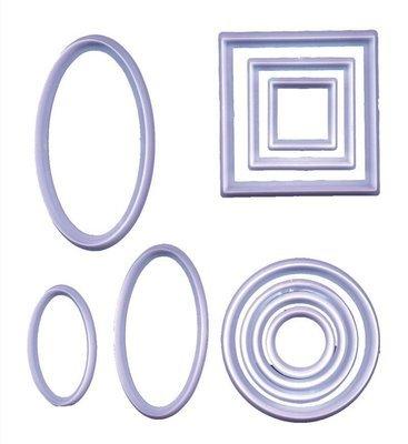 FMM Cutters -GEOMETRIC SET -Σετ 10τεμ Γεωμετρικά Κουπ πατ