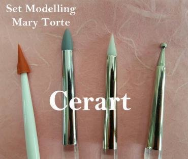 Cerart Set of 4 Mary Presicci Modelling Tools -Εργαλεία Σχεδιασμού 4 τεμ.