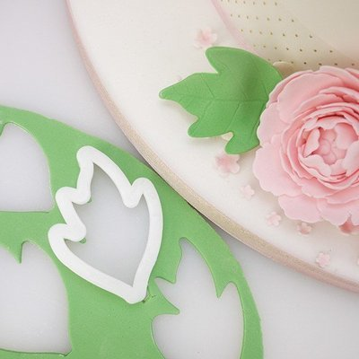 FMM Flower Cutters -THE EASIEST PEONY & LEAF - Σετ 3τεμ κουπ πατ Παιωνία & Φύλλο