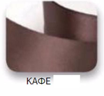 Ribbons - 15mm Satin Ribbon Brown 50m - Κορδέλα Σατέν Καφέ