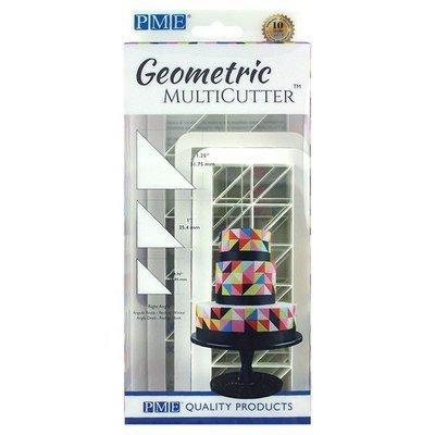 SALE!!! PME Geometric Multicutters -Set of 3 -RIGHT ANGLE TRIANGLE - Σετ 3τεμ Πολλαπλό Κουπ πατ ΟρθογώνιοΤρίγωνο