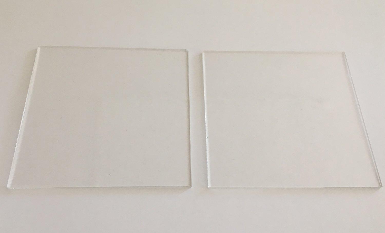 Cakes By Samantha Ganaching Plates -SQUARE 13cm Τετράγωνες Βάσεις/Πιάτα για Επικάλυψη Τούρτας με Γκανάς -13εκ -2 τεμ