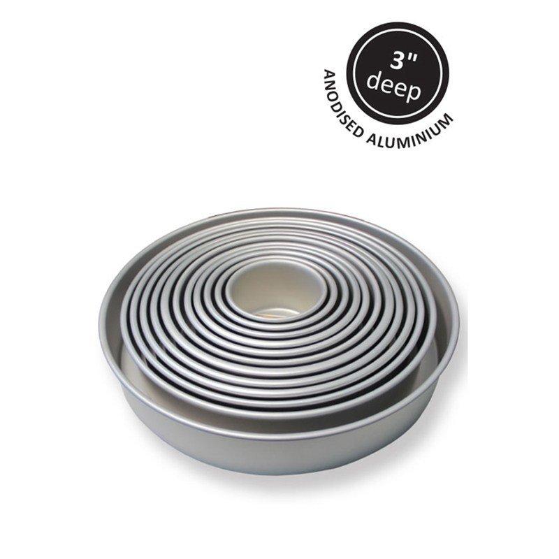 "PME Baking Tin -ROUND DEEP 3"" - Βαθύ Στρογγυλό Ταψί - 7.5εκ"