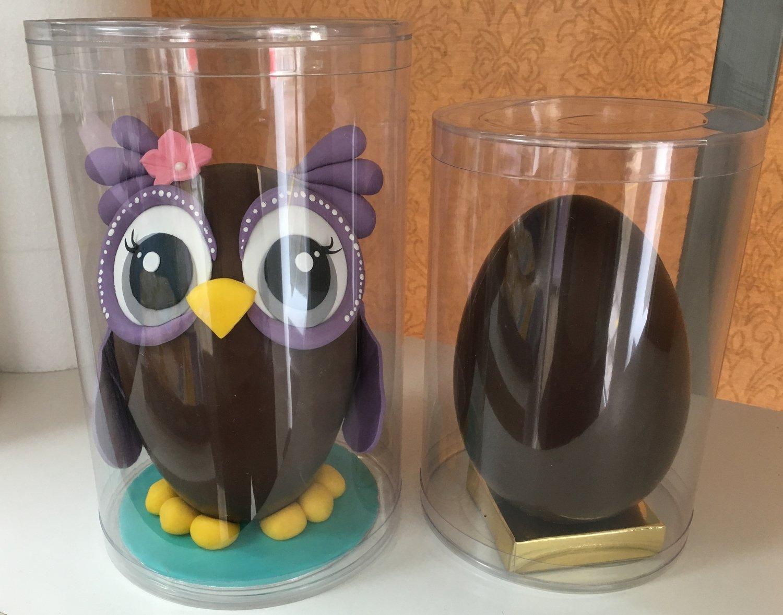 Διάφανα Κουτια 15x22εκ Cylindrical Egg Box ΜΟΝΟ ΓΙΑ ΠΑΡΑΛΑΒΗ ΑΠΟ ΤΟ ΚΑΤΑΣΤΗΜΑ