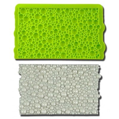 Marvelous Molds SIMPRESS Embossing Mat -PRETTY IN PEARLS -Ανάγλυφο Πατάκι Σιλικόνης Πέρλες