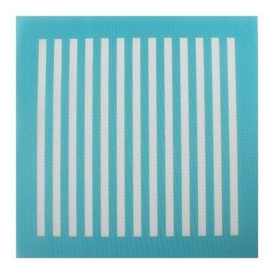 House of Cake Mesh Stencil -VERTICAL LINES -Στένσιλ Κάθετες Γραμμές