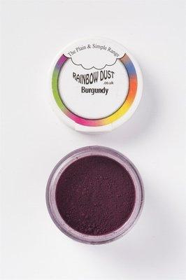 Rainbow Dust Edible Dust -Matt BURGUNDY -Βρώσιμη Σκόνη Ματ Μπορντώ