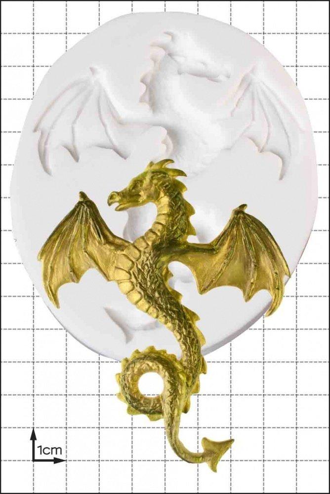 SALE!!!  FPC -Silicone Mould -FLYING DRAGON -Καλούπι Σιλικόνης Ιπτάμενος Δράκος