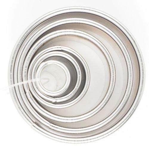 Cookie Cutter -Geometric Set 0f 6 -ROUND/CIRCLES - Σετ 6 τεμ κουπ πατ Στρογγυλό/Κύκλος