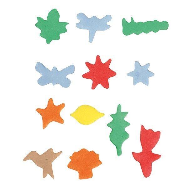 Cake Star Mini Metal Cutters -NATURE - Σετ 12τεμ Μικρά Μεταλλικά Κουπ πατ με θέμα τη Φύση