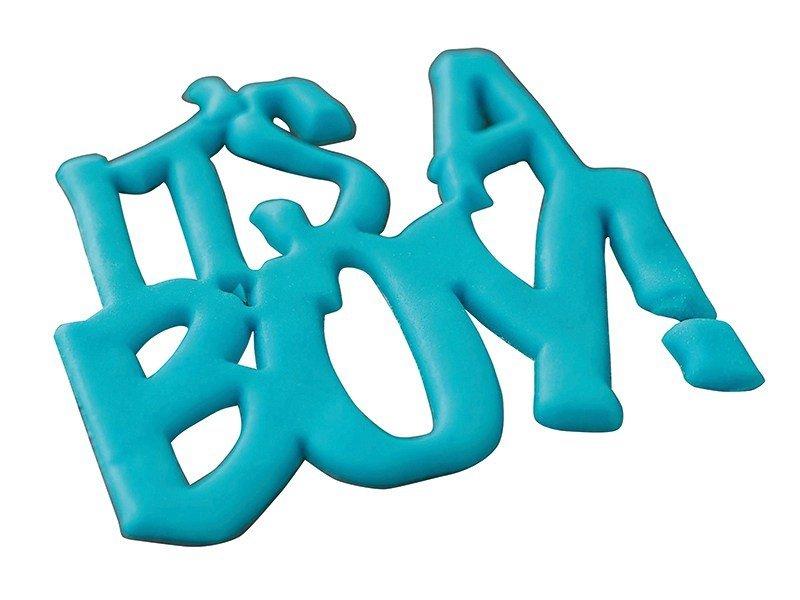 SALE!!!  FMM -Curved Words Cutter -'It's a Boy!' -Κουπ πατ 'It's a Boy!'