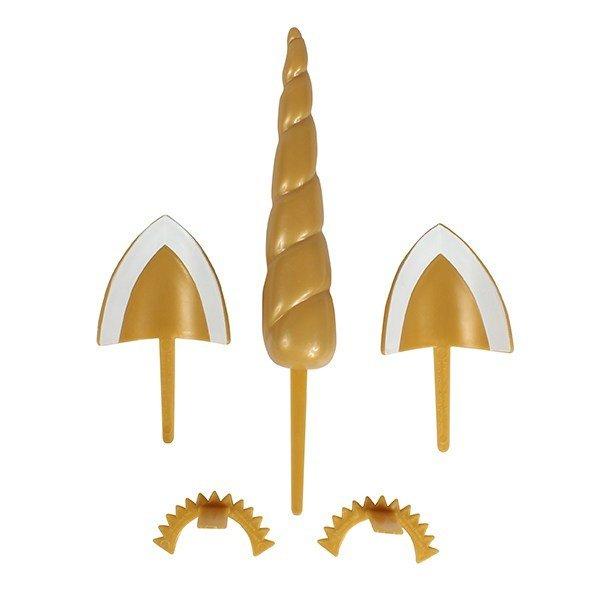 Decopac Plastic Unicorn Cake Decoration set -Πλαστικό σετ για Διακόσμηση Τούρτας -Μονόκερος