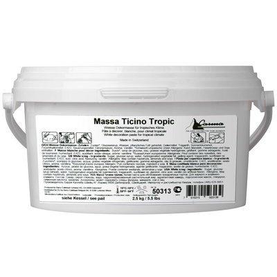 Carma Massa Ticino TROPIC 2.5kg Sugarpaste -Ζαχαρόπαστα Massa Ticino 2.5 κιλά