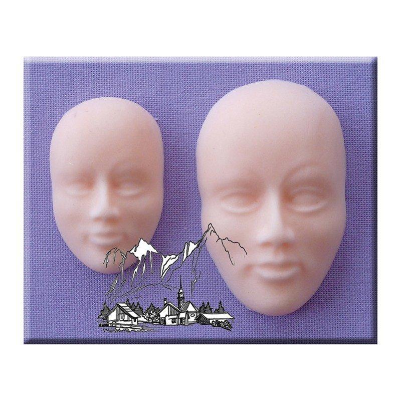 Alphabet Moulds -FACES -Καλούπι Πρόσωπα