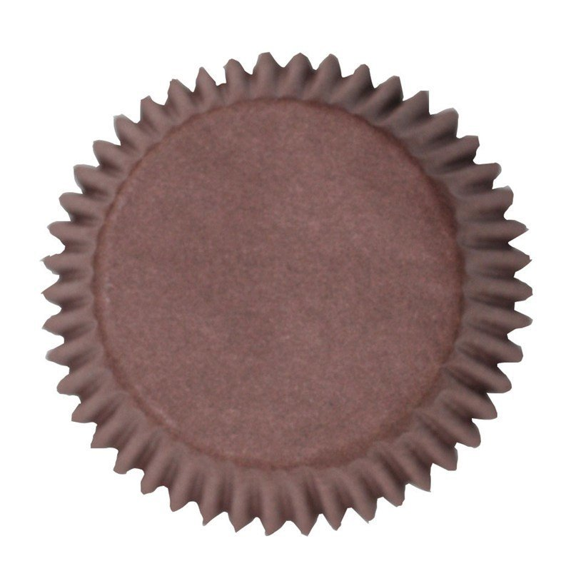 Cake Star Cupcake Cases -PLAIN BROWN -Θήκες Ψησίματος - Καφέ 50 τεμ