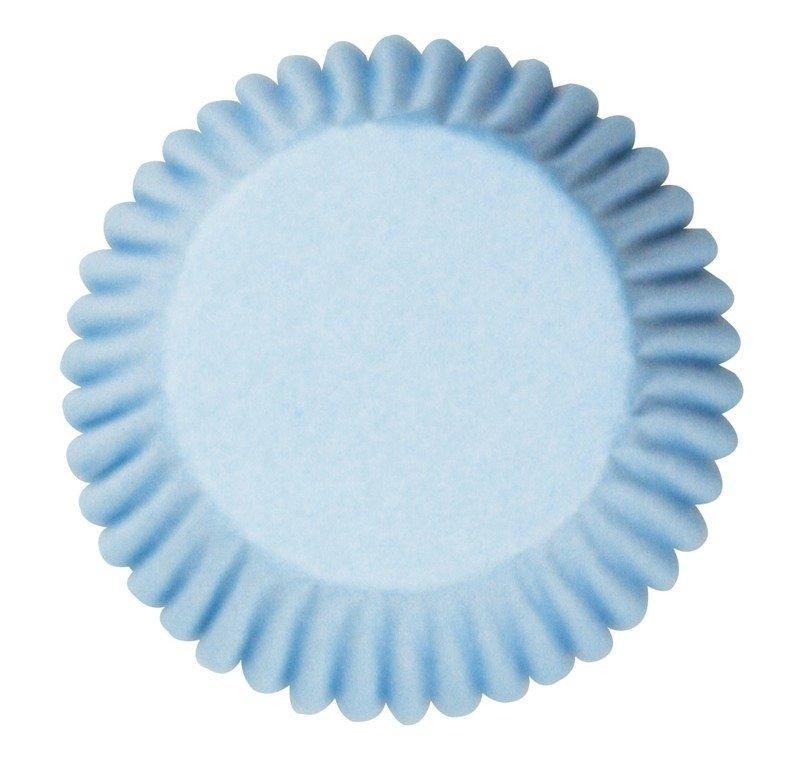 Cake Star Cupcake Cases -PLAIN PALE BLUE - Θήκες Ψησίματος - Γαλάζιες 50 τεμ