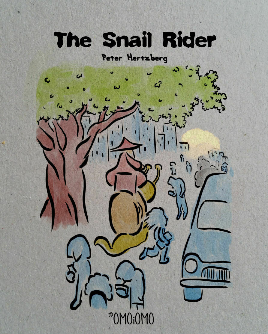 The Snail Rider - Picture Book PDF (ENG / SWE)