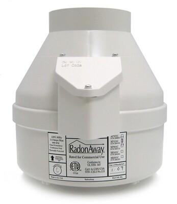 RadonAway XP201 Radon Mitigation Fan