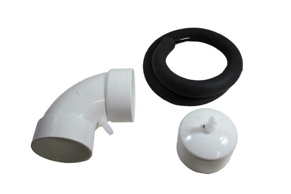 Radon System Condensation Bypass w/Fittings
