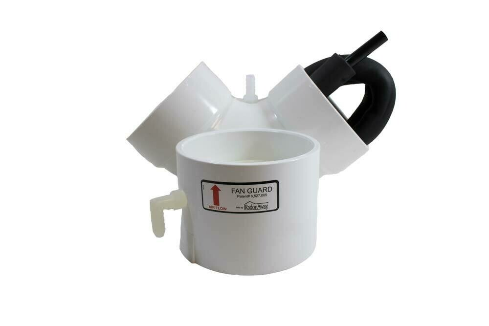 Radon System Condensation Bypass Collar w/90