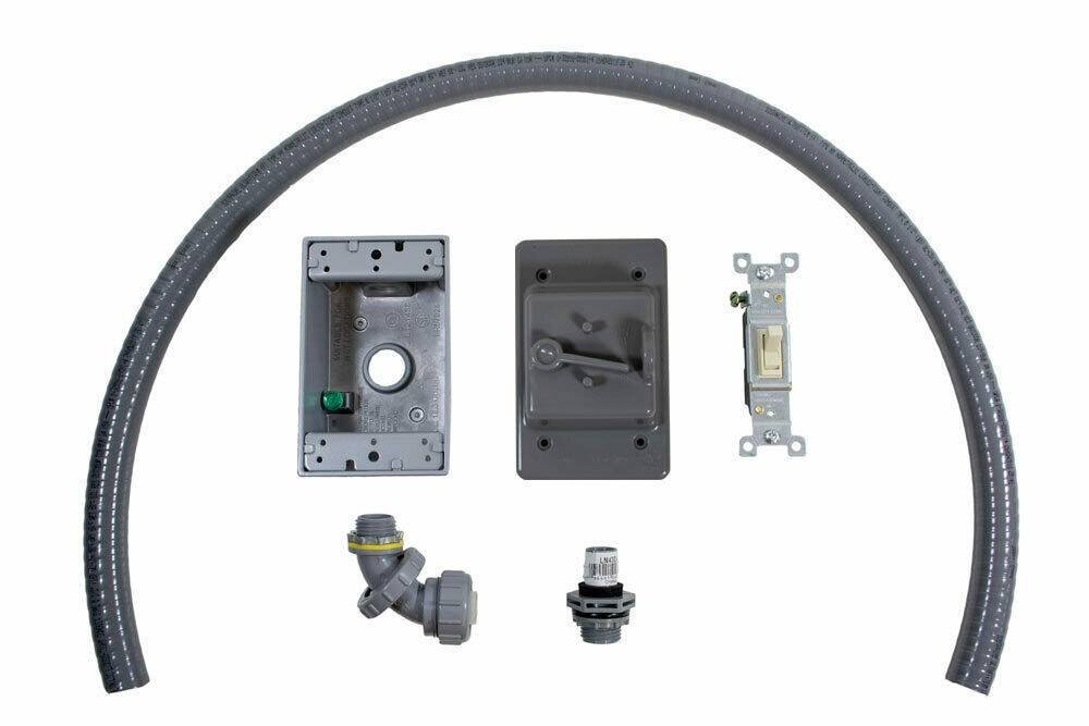 Outdoor Electrical Kit w/Lockout Cover