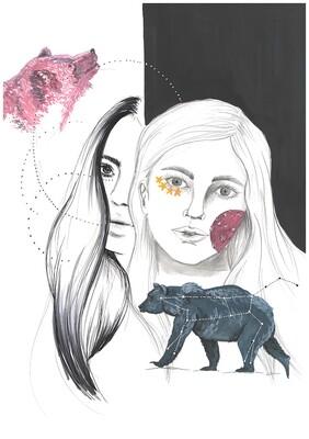 Ursa Major illustration print