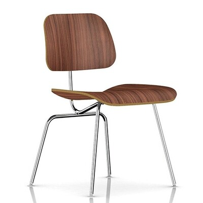 Herman Miller® Eames® Molded Plywood Dining Chair Metal Base