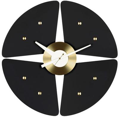 Vitra Petal Black Clock