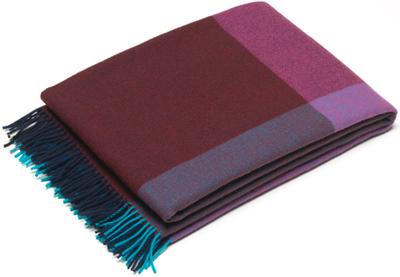 Vitra Blanket Color Block Blue Bordeux