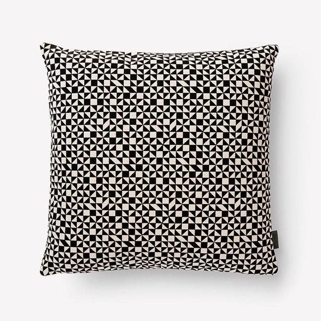 Maharam Checker Split Pillow by Alexander Girard