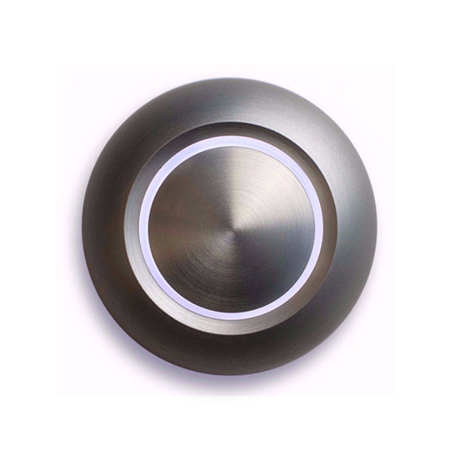 Spore True Aluminum Doorbell Button